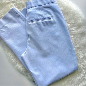 ANNE KLEIN Baby Blue Dress Pants 00
